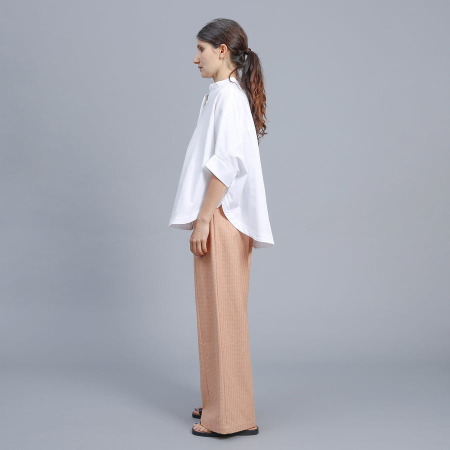 DANA PANT / ORANGE-BEIGE