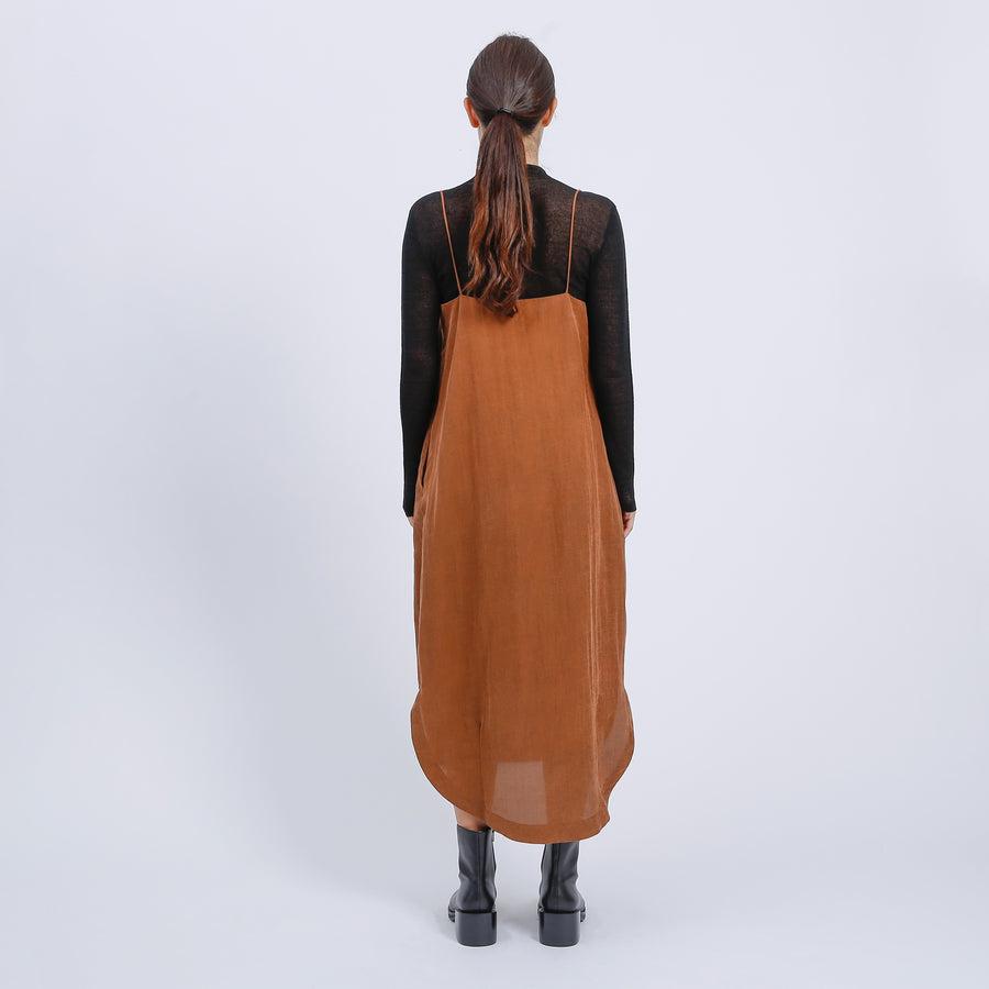JOAN DRESS / BRONZE