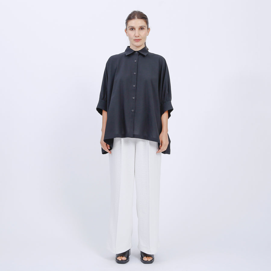 LILLIAN SHIRT / BLACK