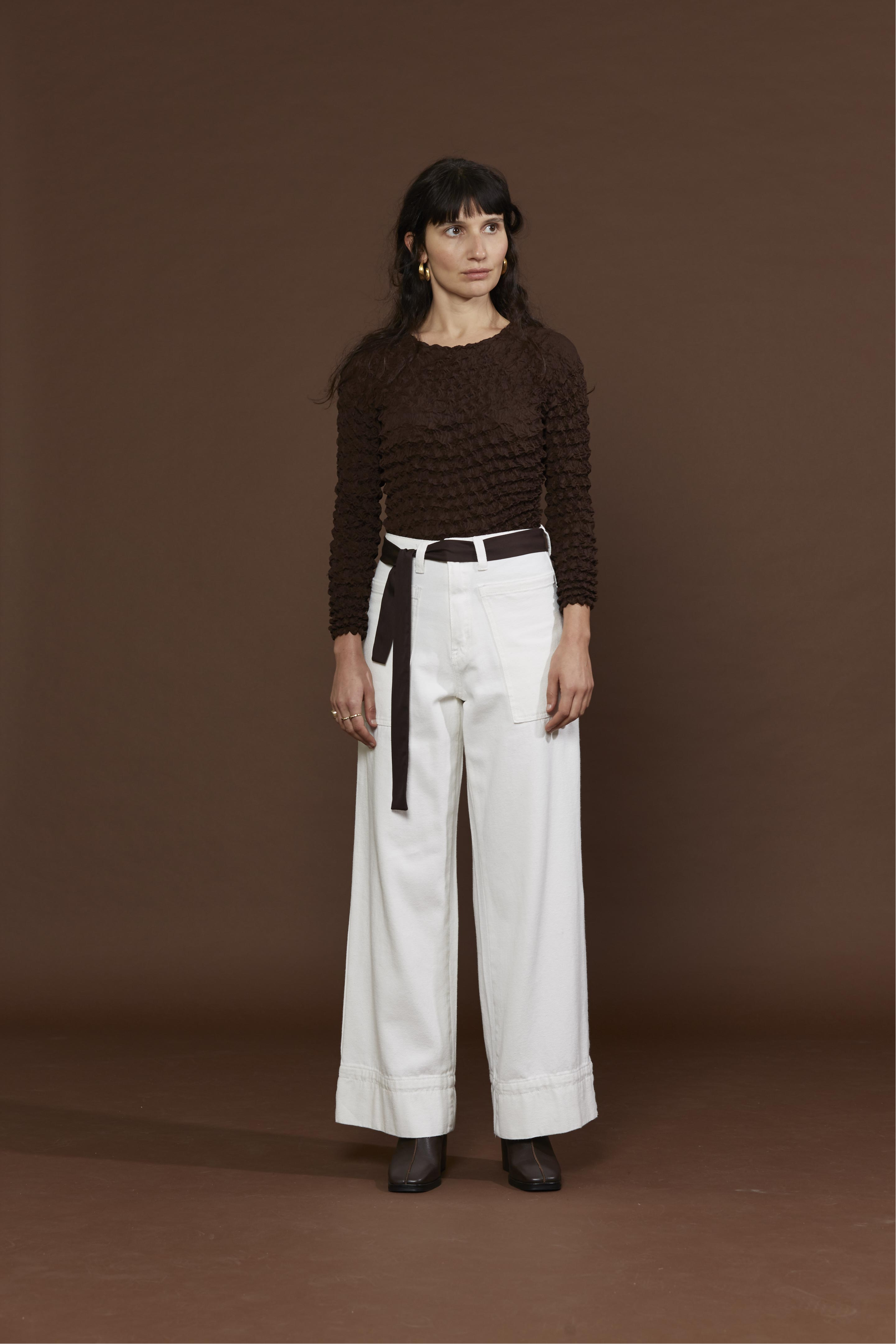 SADE TOP / CHOCOLATE