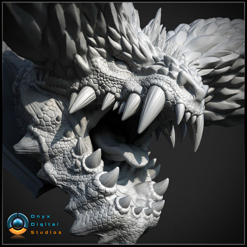 Nergigante wall mounted head