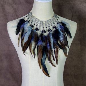 Sabrina Feather Necklace