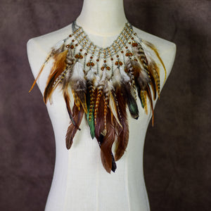 Piper Feather Necklace