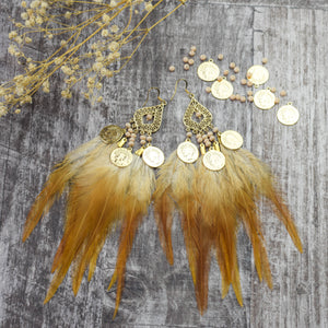 Fallon Feather Earrings