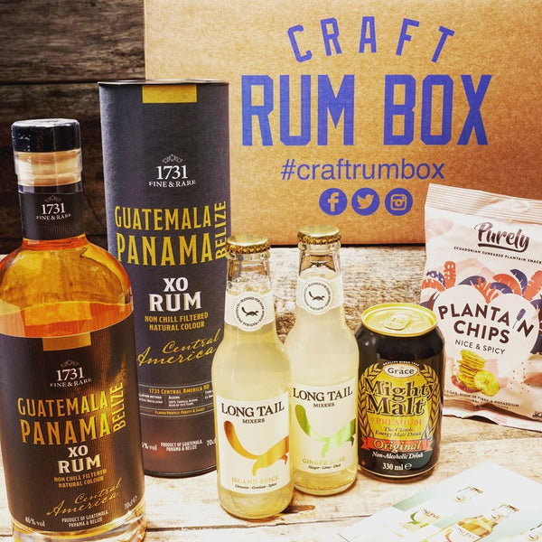August 2020's Craft Rum Box | 1731 Fine and Rare Central America Blend