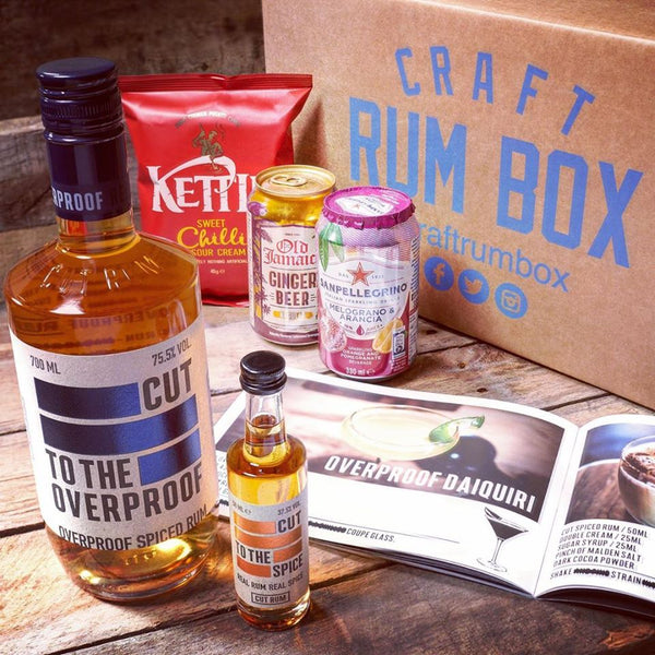 April's Craft Rum Box | Cut Rum Overproof
