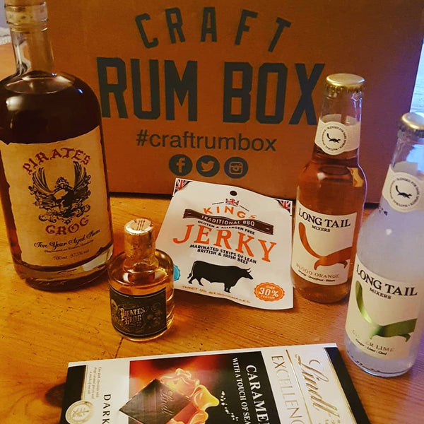 February 2019 Craft Rum Box