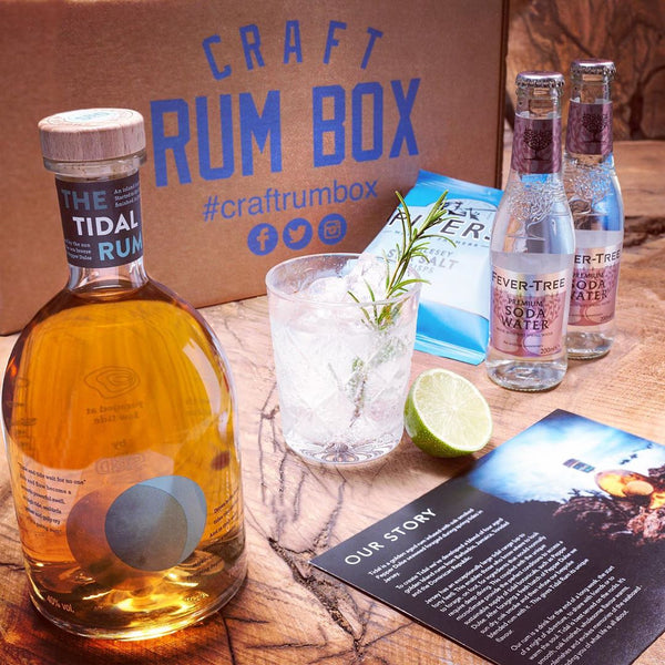 January's Craft Rum Box
