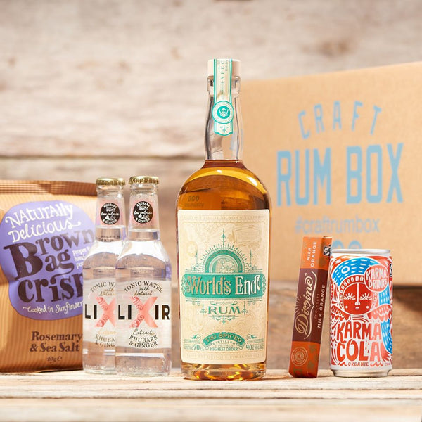 March's Craft Rum Box | World's End Tiki Spiced Rum