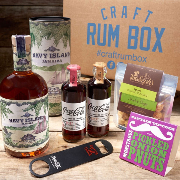 June 2020's Craft Rum Box | Navy Island Rum