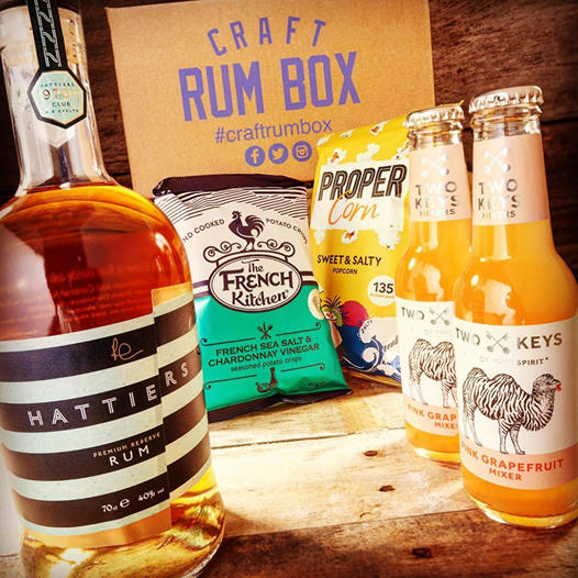 October 2020's Craft Rum Box | Hattiers Rum