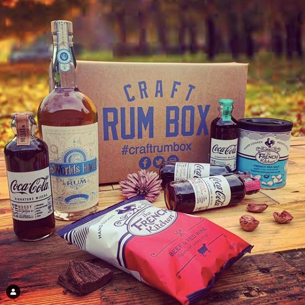 October's Craft Rum Box