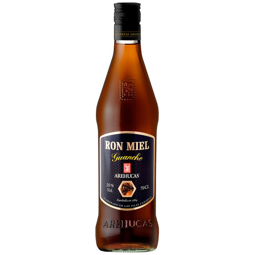 Arehucas Ron Miel Honey Rum 70cl 20%