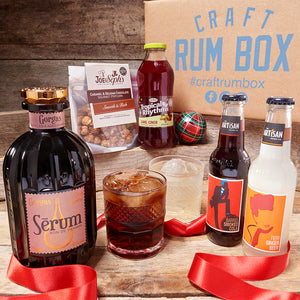Decembers Craft Rum Box | Serum Gorgas 40% abv 70cl