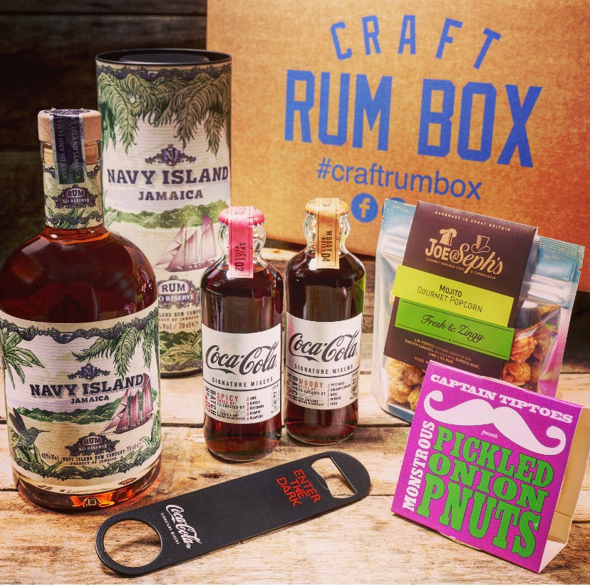 June's Craft Rum Box | Navy Island Jamaican Rum 40% 70cl