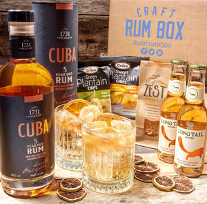 November's Craft Rum Box | 1731 Fine & Rare C 5yo Rum | 46% abv 70cl