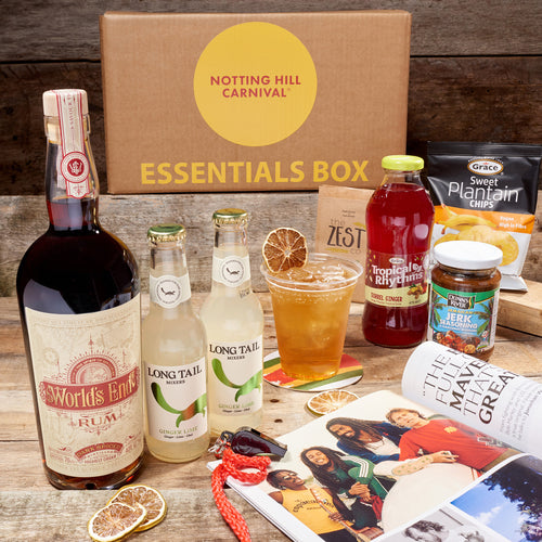 World's End Dark Spiced Rum Carnival Essentials Box