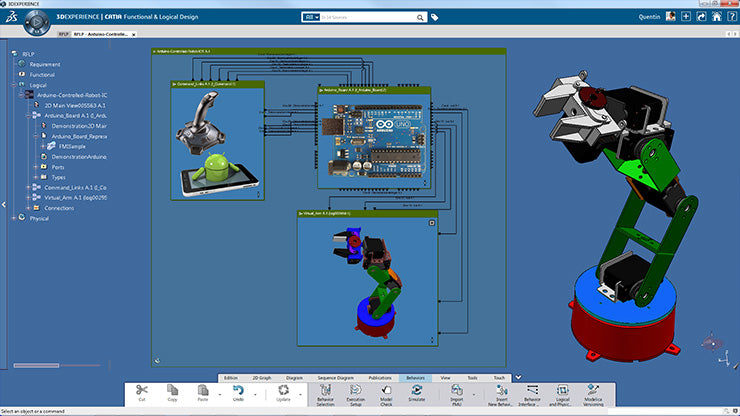 3DEXPERIENCE Freeform Surface Modeler