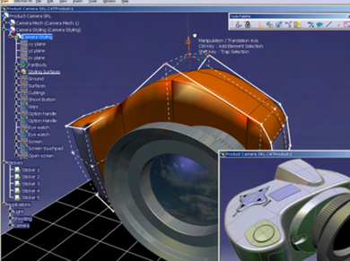 CATIA V5- Concept Product Creation Add-ON -CRE