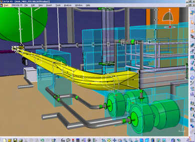 CATIA V5- Electrical Cable Layout Add-ON -ECX