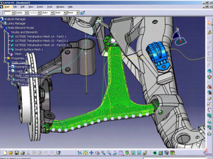 CATIA V5-FEM and Structural Analysis Add-ON -FAX