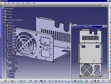 CATIA V5-Fabricated Product Creation Add-ON -FPE