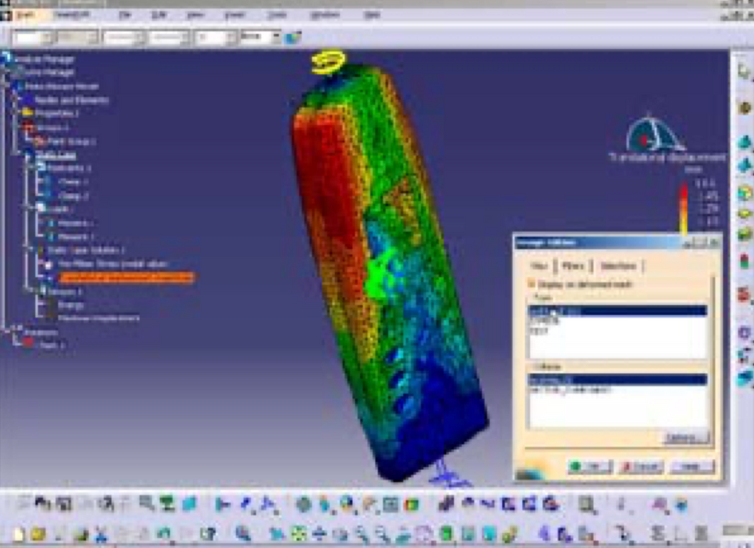 CATIA V5- Generative Structural Analysis Add ON -GAE