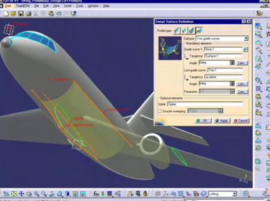 CATIA V5- Mechanical Shape Design Add ON -HDX