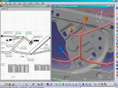 CATIA V5- Electrical Wire Harness Flattening Add ON -HFX