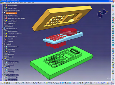 CATIA V5 -Molded Product Creation– MPE