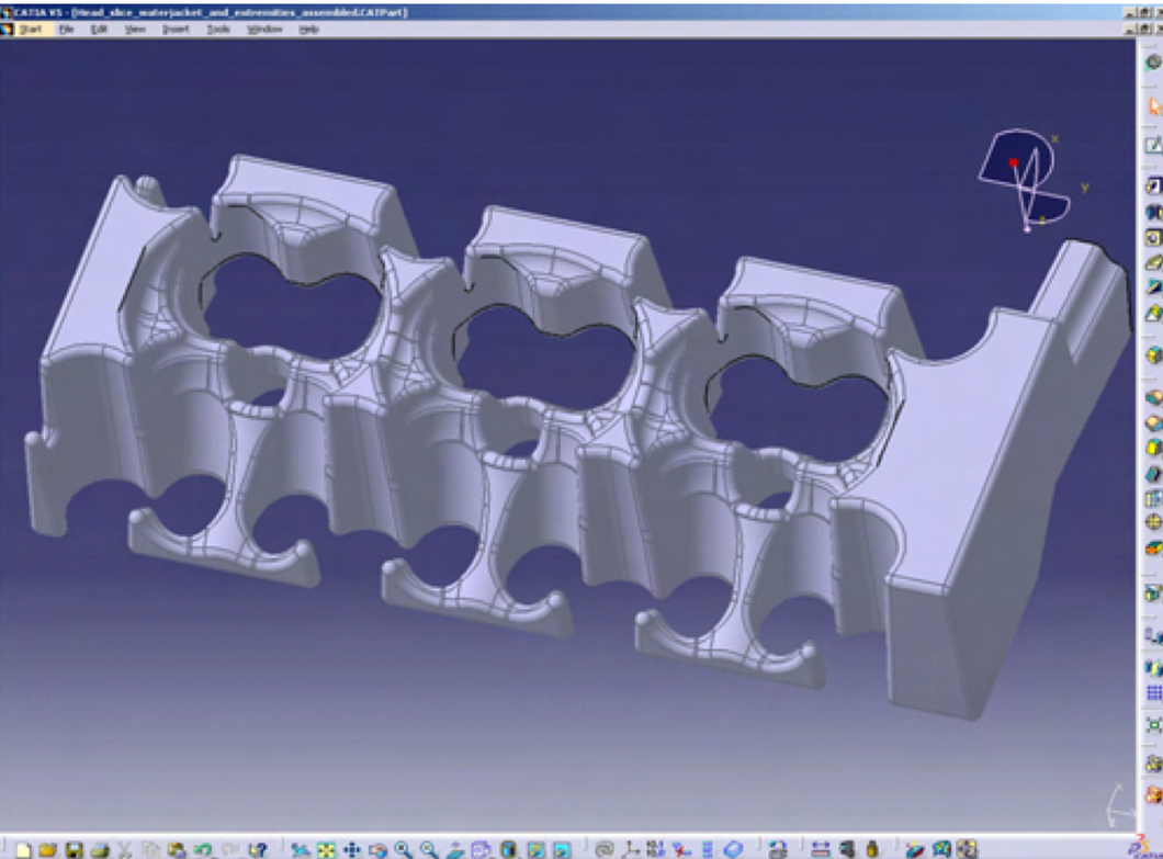 CATIA V5 -Molded Product Design for Manufacturing– MPX