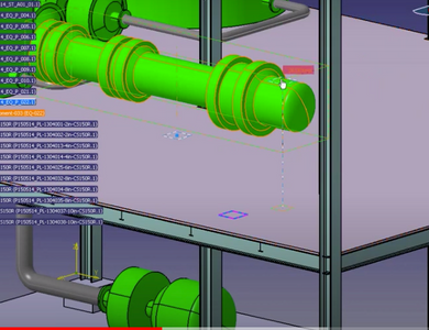 CATIA V5 -Piping Schematic to Design– PIE