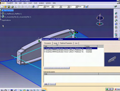 CATIA V5 -Knowledge Templates– PKE
