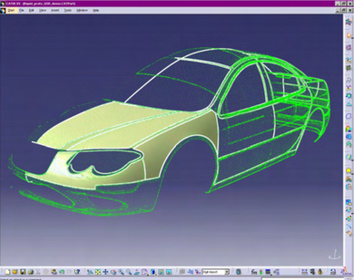 CATIA V5 -Reverse Engineering– REE