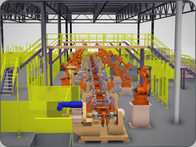 Emerging Technology in Factory Floor Simulation