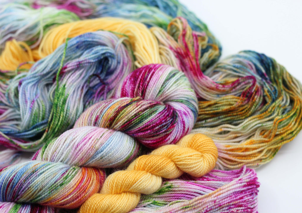 January Sock Set ~ Semi Precious & Rā ~ Trust ~ High Twist Merino Nylon Sock
