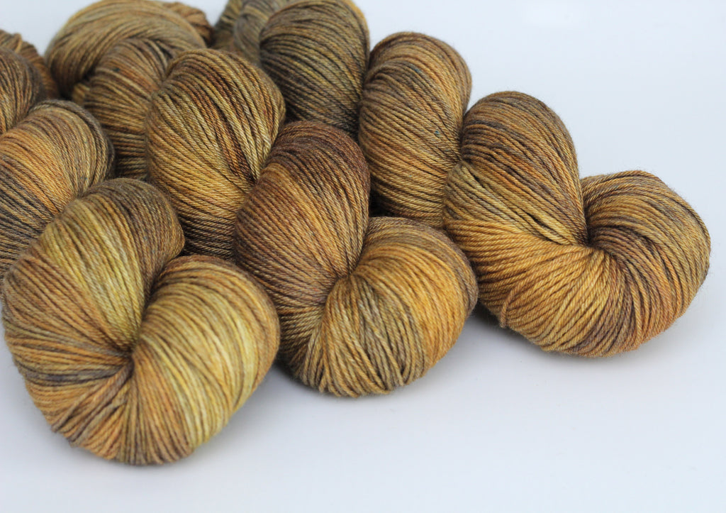 Burnished ~ Grace Fingering ~ Silky Bamboo Merino