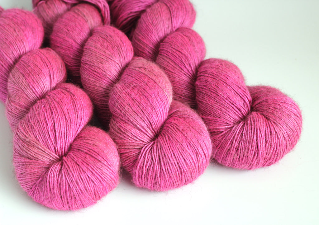 Cherry Blossom ~ Luxe ~ Silky Yak Fingering