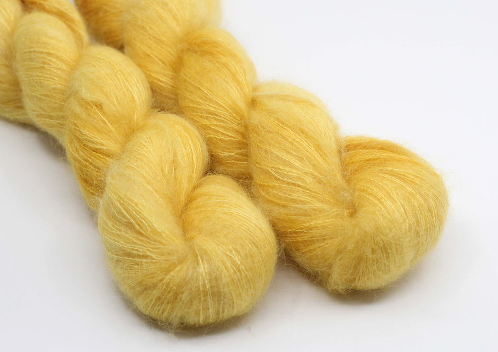 Golden Child ~ Halo ~ Mohair Kidsilk Fluff