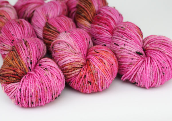 Hot House ~ Tweedy DK ~ Donegal Nep Merino 8ply