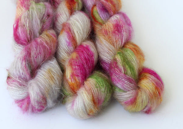 Lolly Cake ~ Halo ~ Mohair Kidsilk Fluff