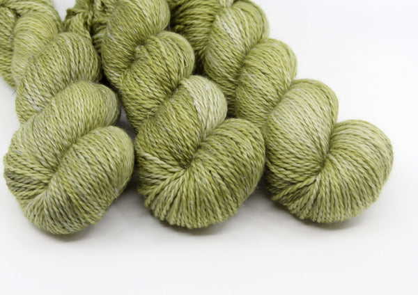 Forest Fern ~ Merlin Worsted ~ Merino Linen 10ply