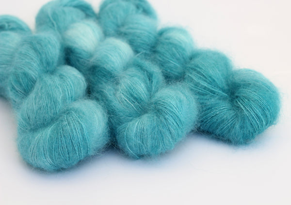 Mermaiden ~ Halo ~ Mohair Kidsilk Fluff