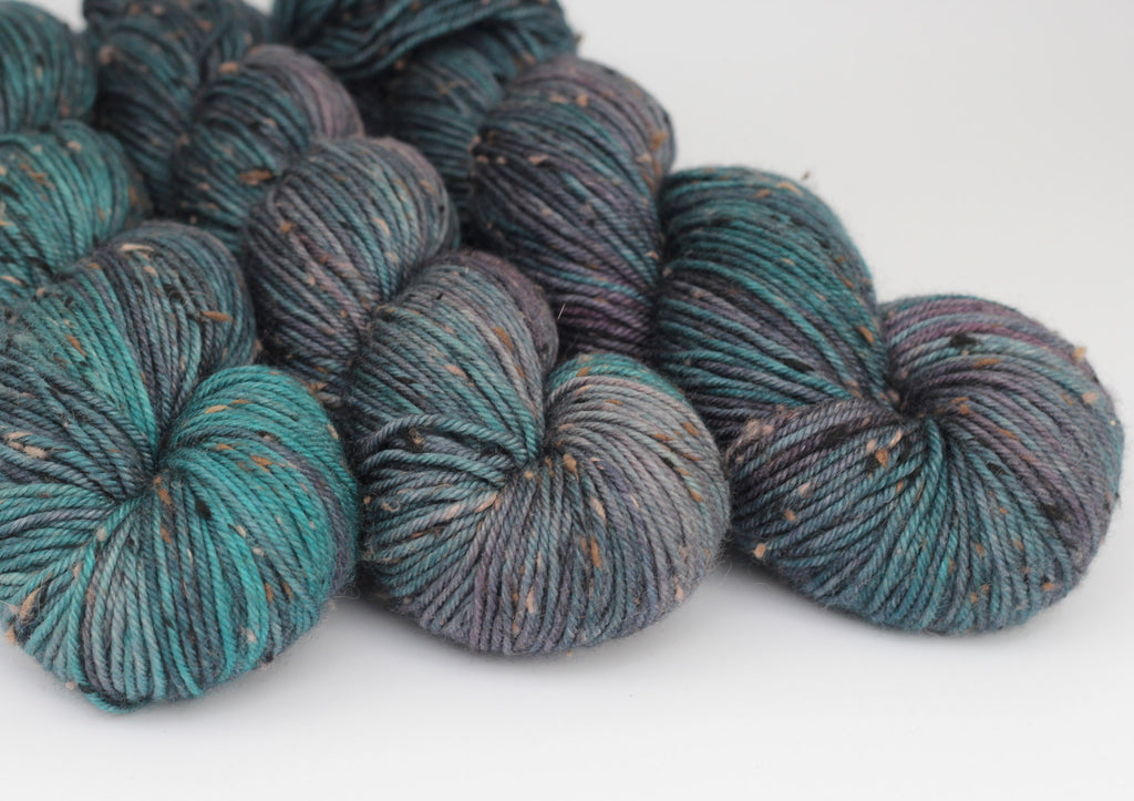 Midnight Train ~ Tweedy DK ~ Donegal Nep Merino 8ply
