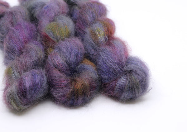 Galaxy ~ Halo ~ Mohair Kidsilk Fluff