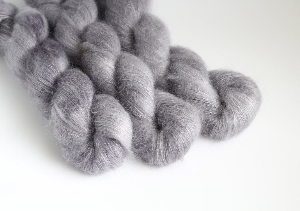 Shadow ~ Halo ~ Mohair Kidsilk Fluff