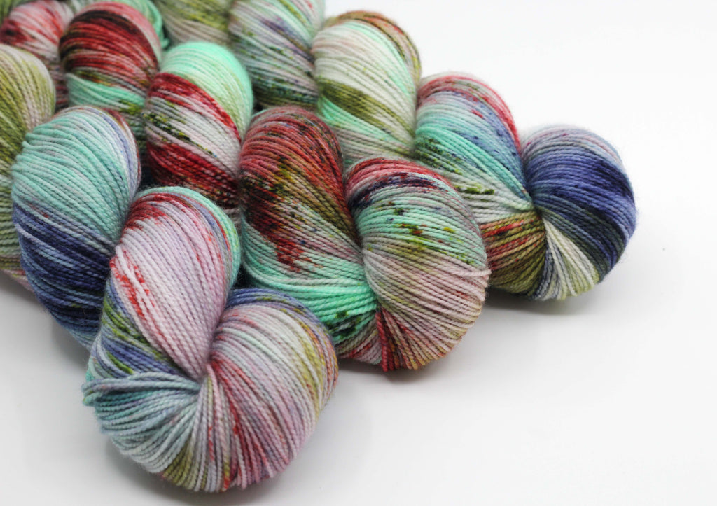 Tussock Takahē ~ Trust ~ High Twist Merino Nylon Sock