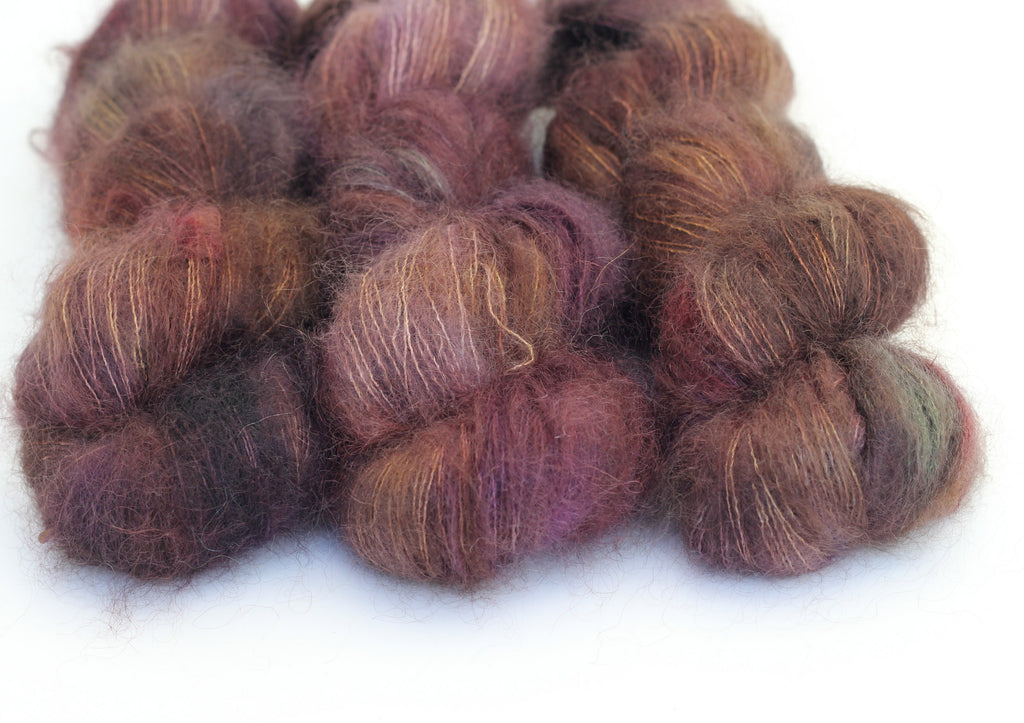 Underworld ~ Halo ~ Mohair Kidsilk Fluff