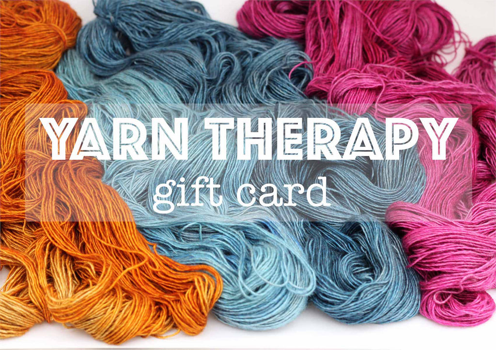 Yarn Therapy Gift Voucher