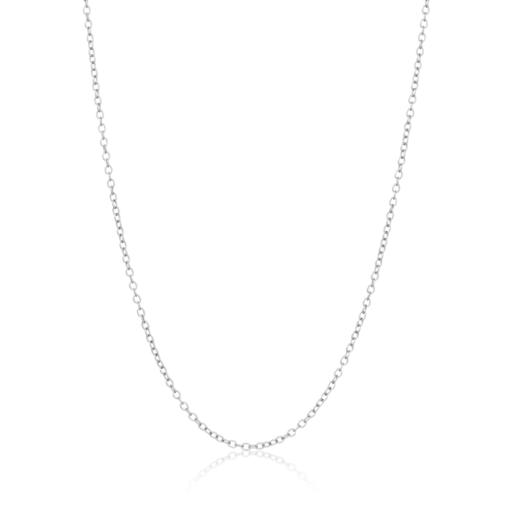 Basic Cable Chain (For Charms) - Sterling Silver